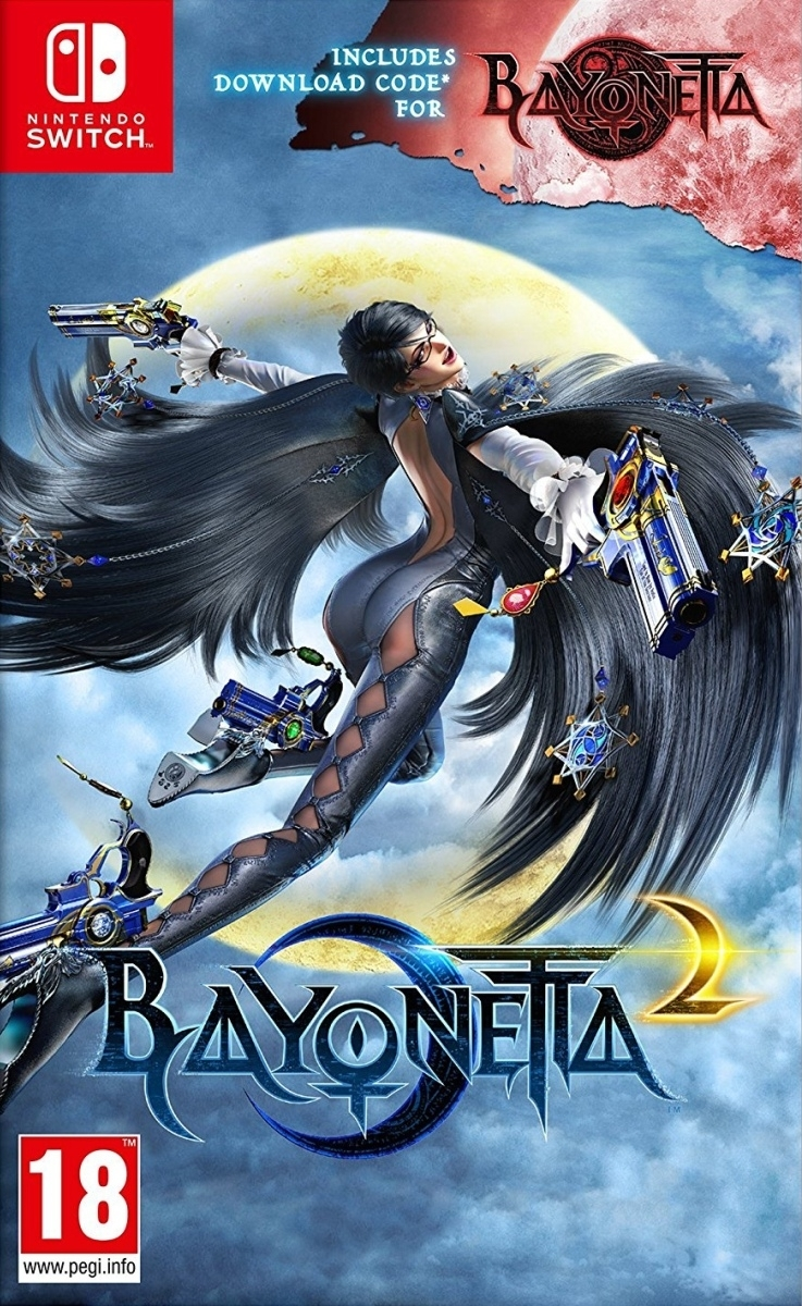 Bayonetta 2 + 1 Nintendo Switch